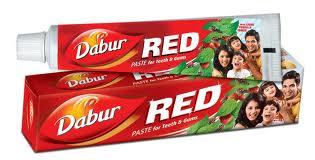 DABUR RED ajurvedinė dantų pasta dantenoms, 100g