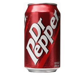 DR PEPPER vaisių skonio gazuotas gėrimas, grynasis tūris 0,3 l