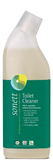 Ekologiškas  tualeto valiklis su kedro ir citrinžolės eteriniais aliejais  SONETT 750 ml