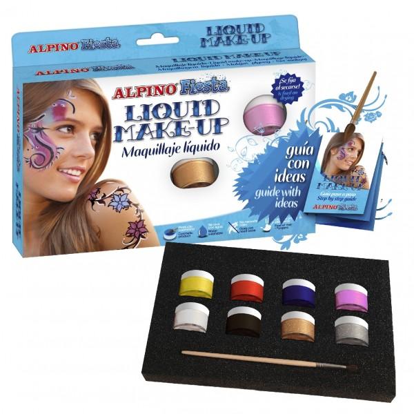 Grimo kremas ALPINO Fiesta vaikams nuo 3 metų, 8 spalvos, 10 g (DL000100)