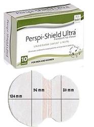 Įklotėliai pažastims NUO PRAKAITO, Perspi-Shield Ultra, 10 vnt.