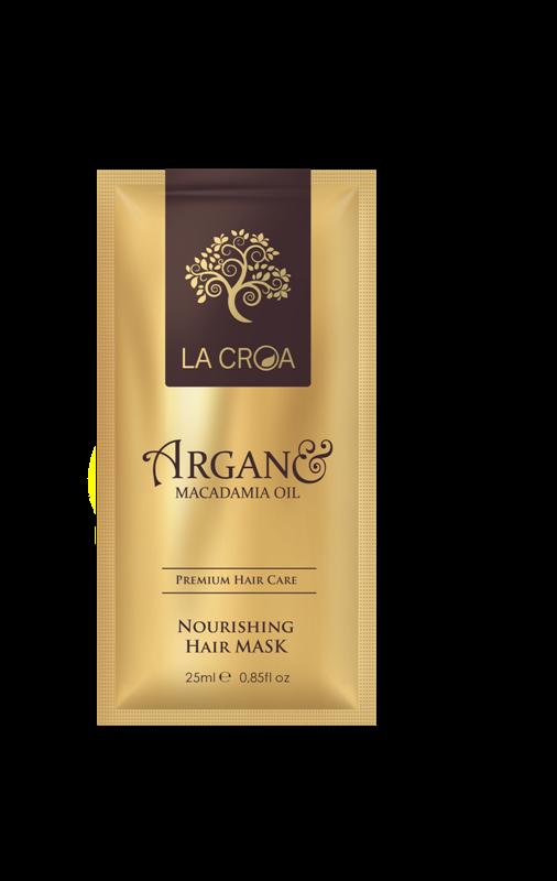 Intensyviai  maitinanti  plaukų kaukė LA CROA,  25 ml