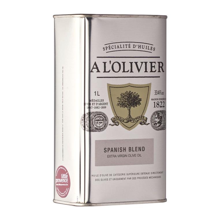 Ispaniškų Extra Virgin aliejų mišinys A L'OLIVIER, 1L