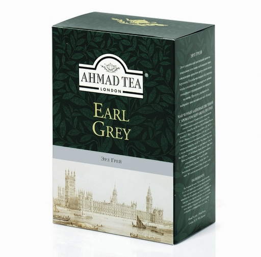 Juodoji arbata aromatizuota bergamote EARL GREY, 100g