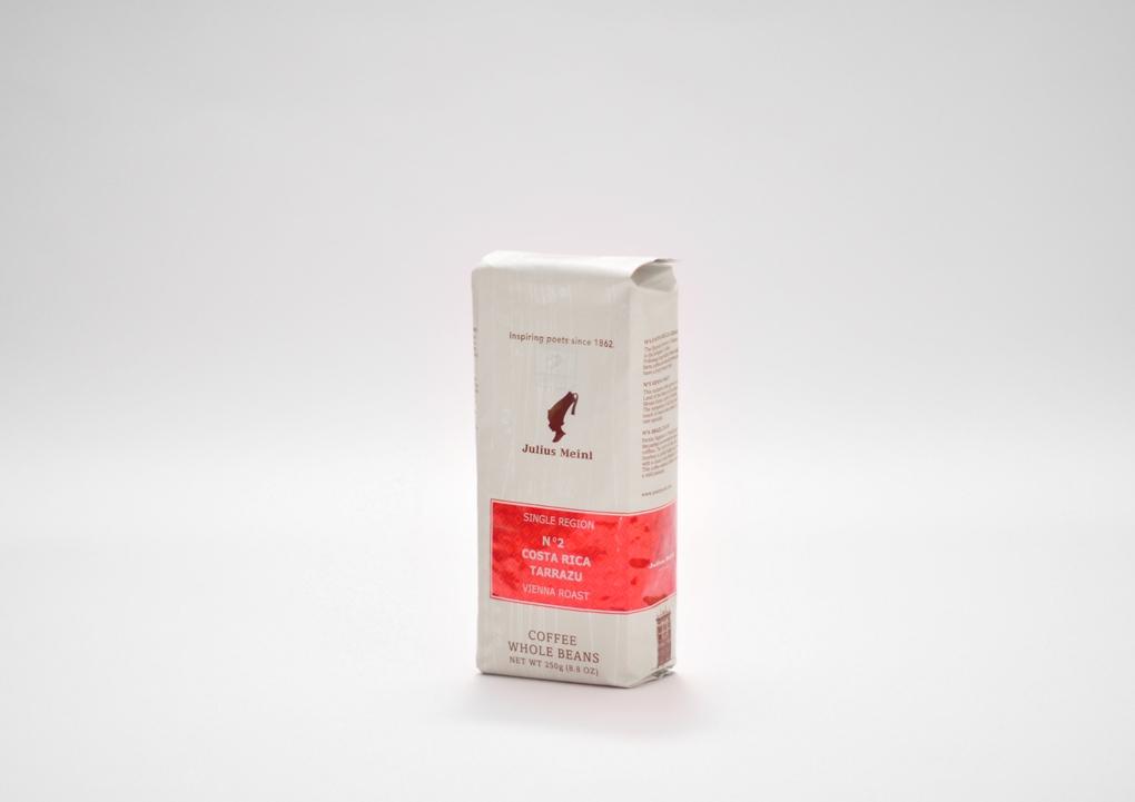 Kavos pupelės Costa  Rica Tarrazu,Julius Meinl,250g