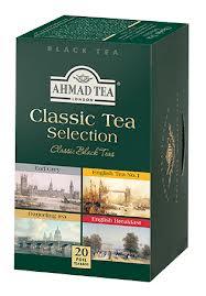 Klasikinės arbatos rinkinysAHMAD TEA CLASSIC TEA SELECTION, 20*2g