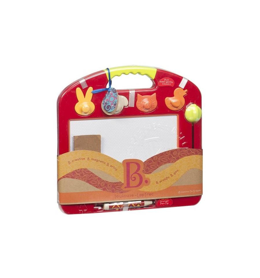 Magnetinė piešimo lenta B-TOYS Toulouse-LapTrec 18 mėn.-5 m. vaikams (BX1294Z)