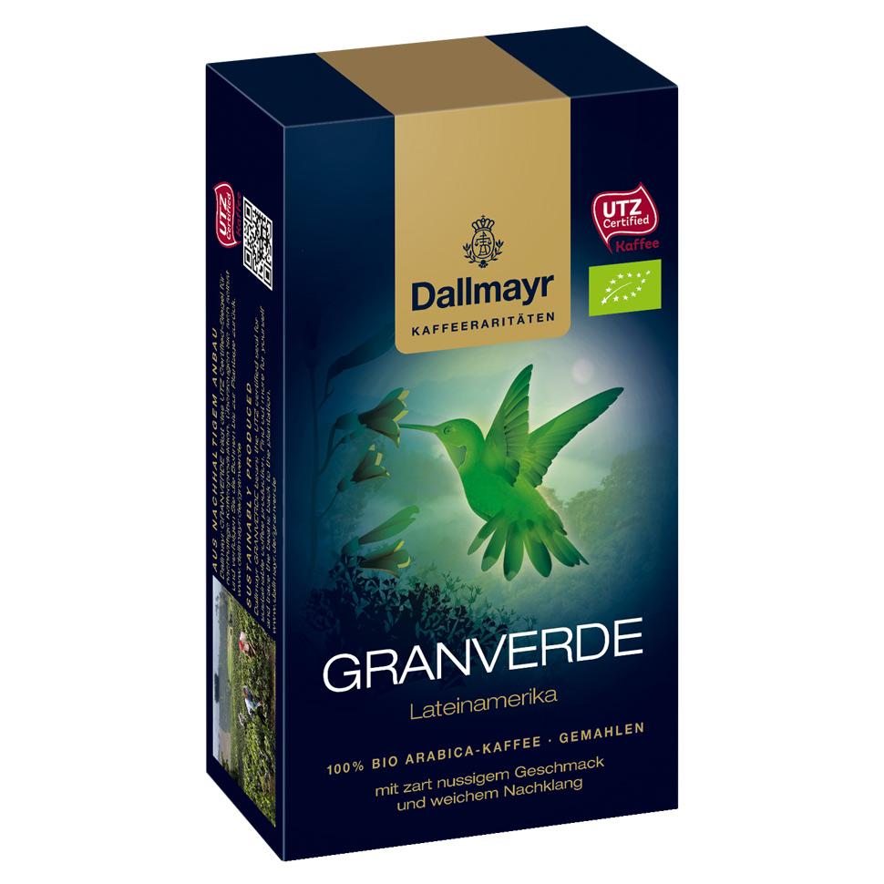 Malta kava Dallmayr Granverde 250g