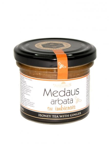 Medaus arbata su imbierais APIFLORUS, 140g