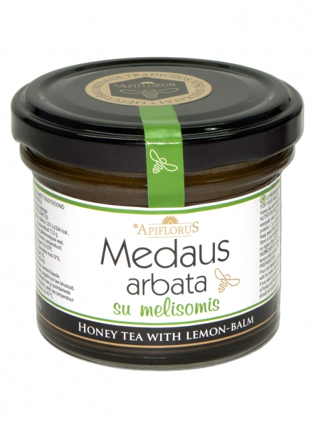 Medaus arbata su melisomis APIFLORUS, 140g