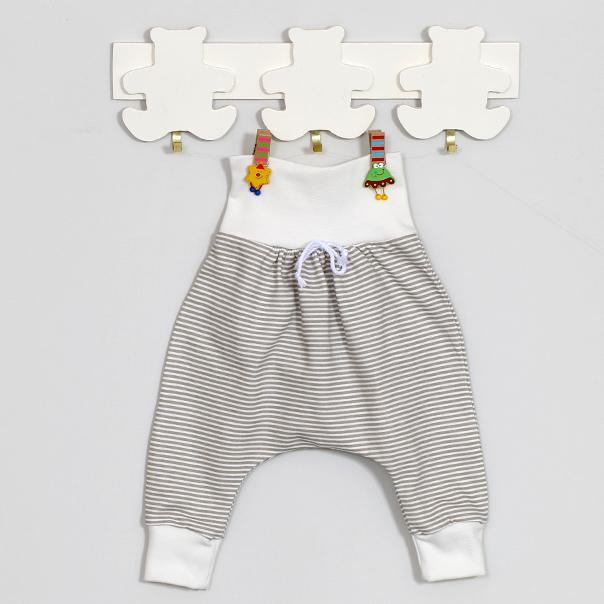 Šiltos medvilninės kelnytės kūdikiams VILAURITA Gee Zoo, 56 cm, 62 cm (489)