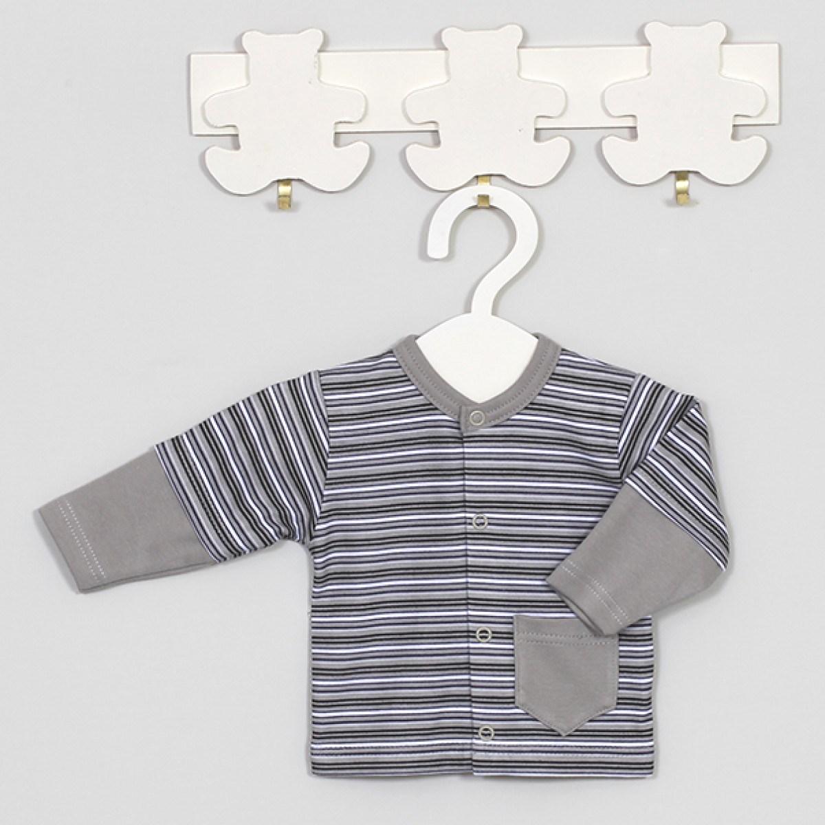 MEDVILNINIAI marškinėliai kūdikiams ILGOMIS RANKOVĖMIS, 56 cm, 62 cm, Tutto, Vilaurita (528)