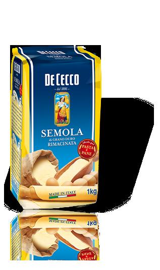 KIETŲJŲ KVIEČIŲ miltai Grana Duro, De Cecco, 1 kg
