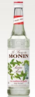 Monin MĖTINIS Mojito Mint sirupas, 700 ml