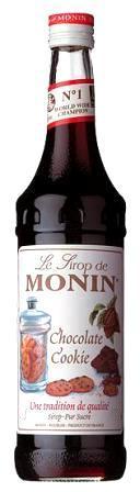 Monin ŠOKOLADINIŲ SAUSAINIŲ skonio sirupas, 50 ml