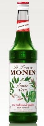 Žaliųjų mėtų skonio sirupas MONIN, 700 ml
