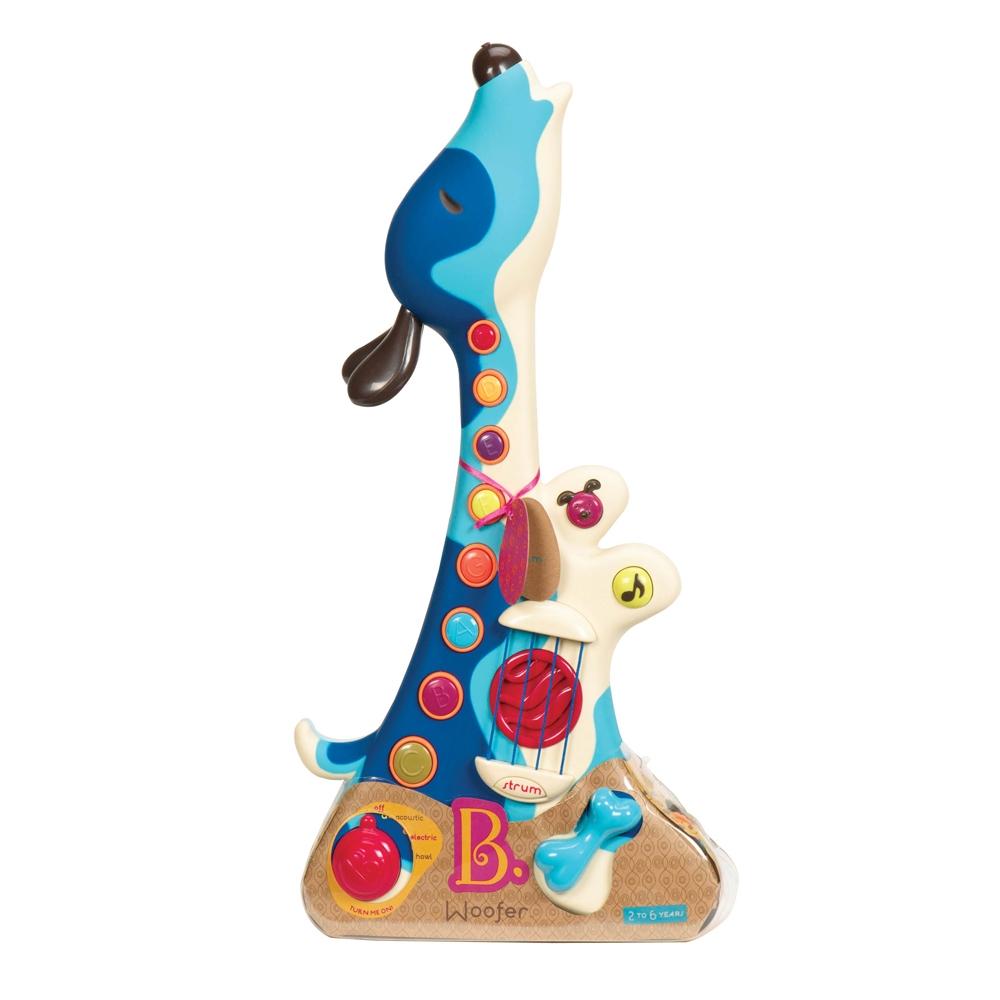 Muzikinė gitara-šuniukas B-TOYS Woofer vaikams nuo 2 metų (BX1206Z)