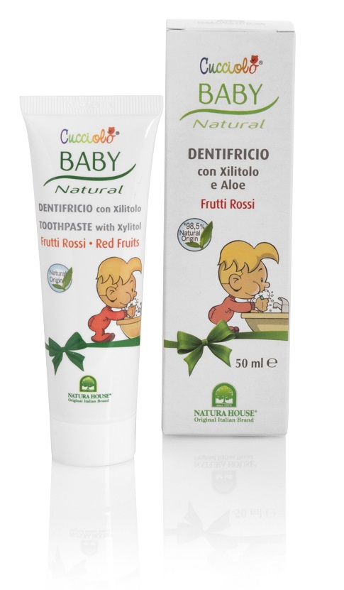 "NATURA HOUSE Baby Cucciolo dantų pasta vaikams ""Red Fruits"", 50ml"