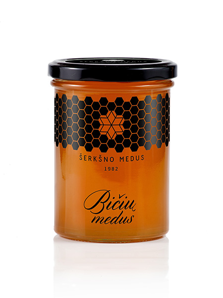 Natūralus bičių medus, 0,5kg