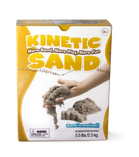 Natūralus kinetinis smėlis KINETIC SAND vaikams nuo 3 metų