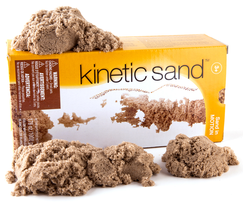 Natūralus kinetinis smėlis KINETIC SAND , 1 kg