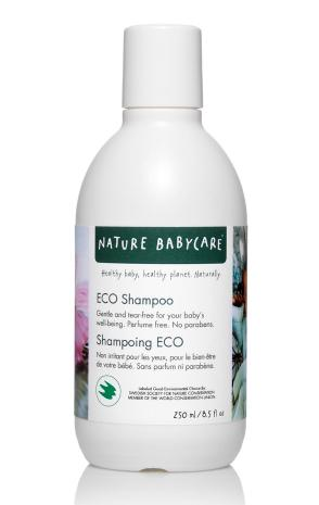 NATURE BABYCARE ekologiškas šampūnas, 250ml