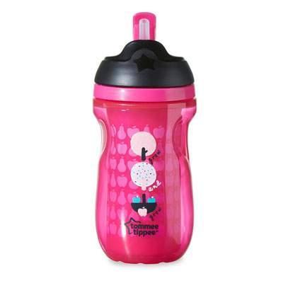 Neišsiliejantis termosinis puodelis su šiaudeliu TOMMEE TIPPEE Explora vaikams nuo 12 mėn., 260 ml (447025)