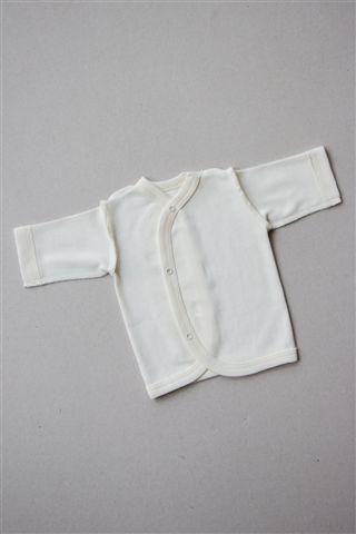 ORGANINĖS MEDVILNĖS marškinėliai NEIŠNEŠIOTUKAMS, 40 – 44 cm, Korlėja (MR-84)
