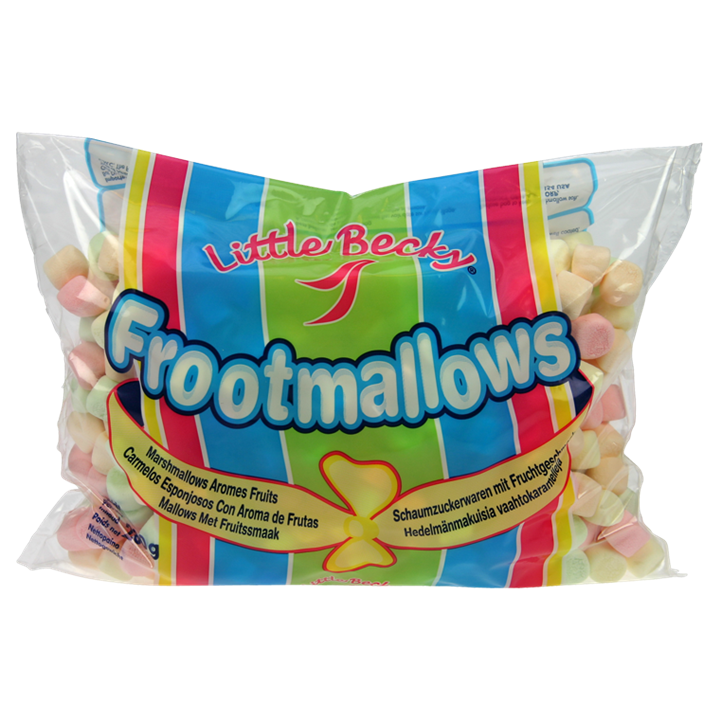ORIGINALŪS AMERIKIETIŠKI SPALVOTI MINI ZEFYRAI Marshmallows, 280g