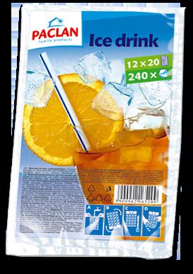 PACLAN ledų šaldymo maišeliai, 10maišeliųx24 ledukų