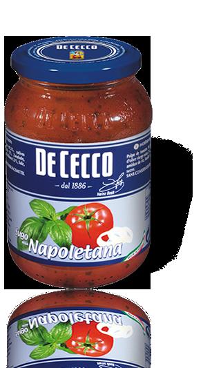 Padažas Alla Napoletana De Cecco, 200 g
