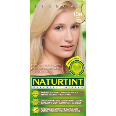 Plaukų dažai ilgalaikiai BE AMONIAKO 10N šviesi Naturtint Naturally Better, 165 ml
