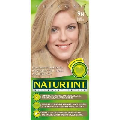 Plaukų dažai ilgalaikiai BE AMONIAKO 9N medaus Naturtint Naturally Better,165 ml