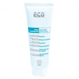Plaukų kondicionierius-kaukė ECO COSMETICS su šaltalankių ir alyvuogių ekstraktais, 125 ml