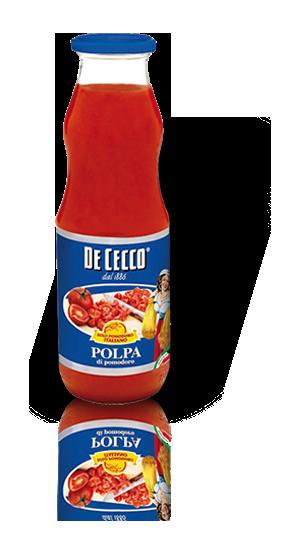 Pomidorų tyrė PADAŽAMS GAMINTI, De Cecco, 690 g