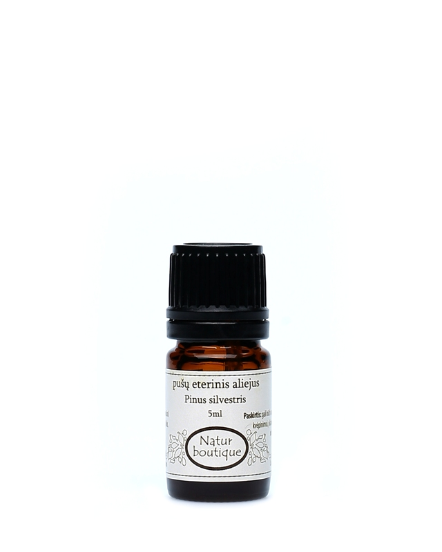 Pušų eterinis aliejus NATUR BOUTIQUE, 5 ml