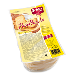 Raikyta duona be gliuteno SCHAR Pain Brioche, 370g