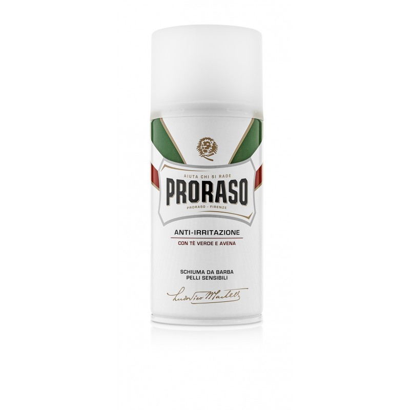 RAMINANČIOS odą skutimosi putos su avižų ekstraktu Proraso White, 300 ml
