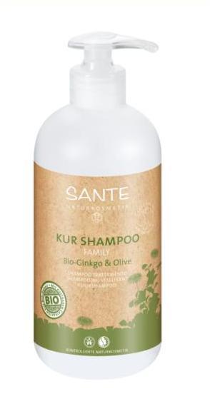SANTE Ginkgo & Olive Šampūnas plaukams, 500ml