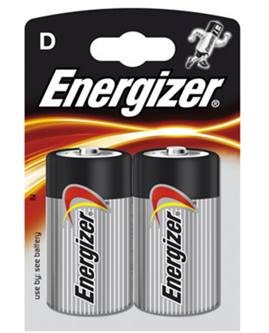 Šarminė baterija Energizer LR20/E95 D, 2vnt