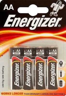 Šarminė baterija Energizer LR6 AA, 4 vnt