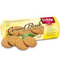 Sausainiai be gliuteno SCHAR Cereal Bisco, 220g