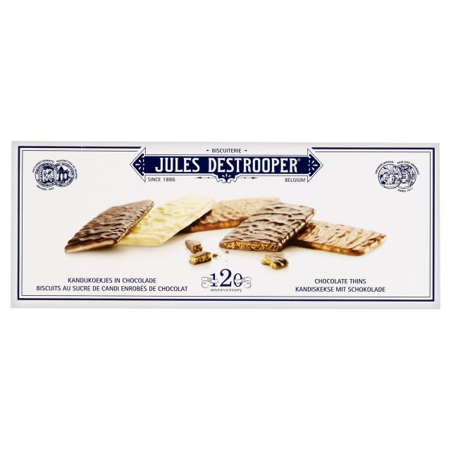 Sausainiai SU BELGIŠKU ŠOKOLADU Jules Destrooper, 100g