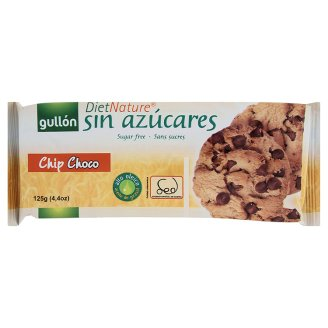 Sausainiai su šokolado gabaliukais DIET-NATURE, 125g