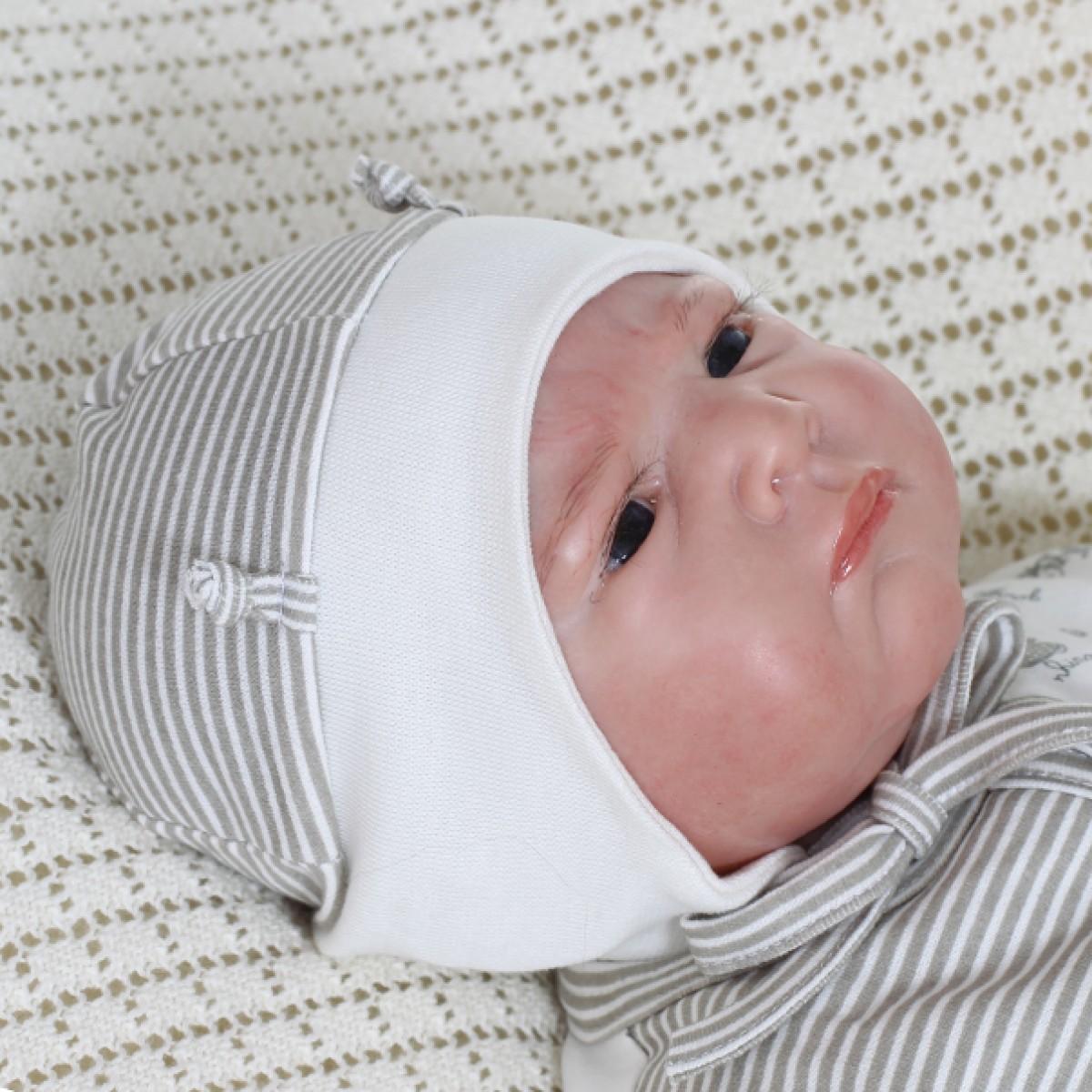Šilta medvilninėkepuraitė kūdikiui VILAURITA Gee Zoo, 40 cm, 44 cm (231)