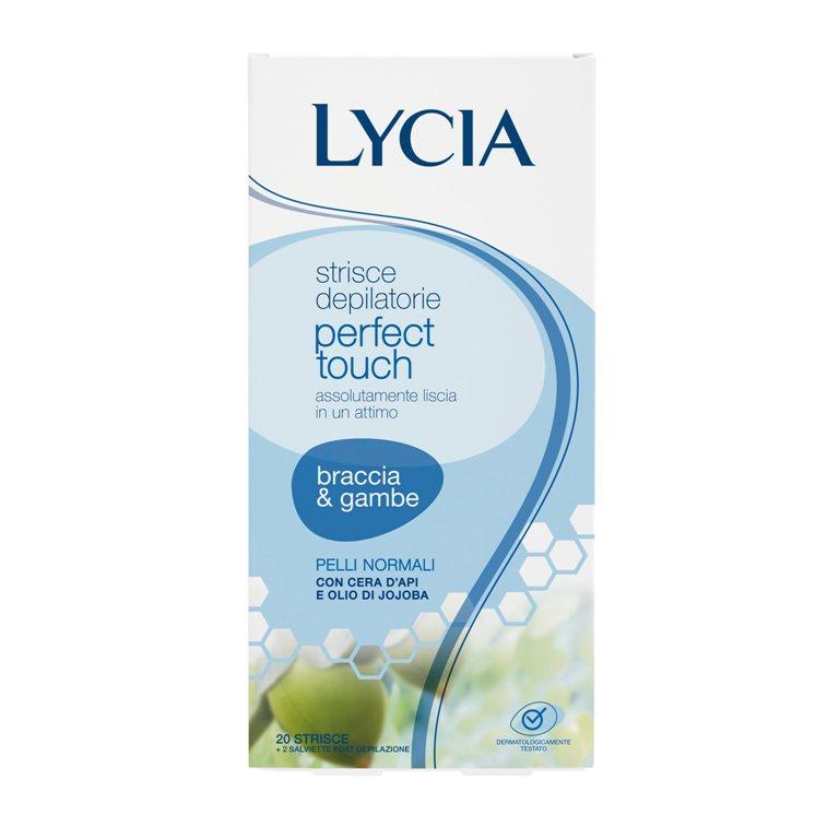 ŠVELNAUS IR ILGALAIKIO EFEKTO depiliacines juostelės rankoms ir kojoms normaliai odai LYCIA, 20 vnt.