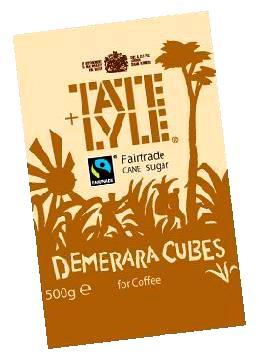 TATE&LYLE Damerara Cubes rudojo cukranendrių cukraus kubelai, 500g