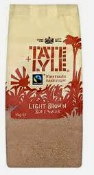 TATE&LYLE Light Brown Sugar rudasis cukranendrių cukrus, 500g