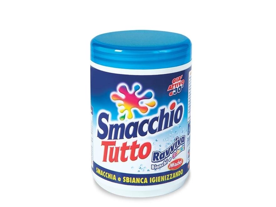 Universalus fermentinis audinių dėmių valiklis SMACCHIOTUTTO, skalbiklio priedas, 600gr