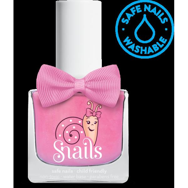 Nuplaunamas vandeniu nagų lakas Dantukų fėja vaikams  nuo 3 m. SNAILS, 10,5 ml